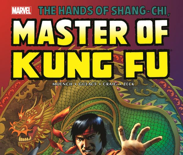 cover from Shang-Chi: Master of Kung Fu (2016)