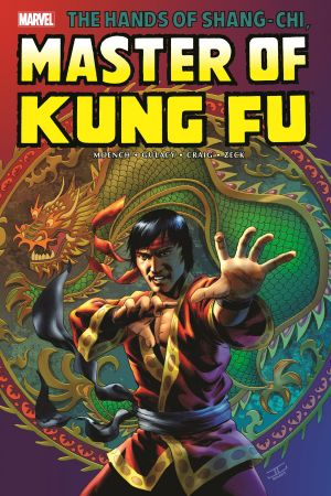 Shang-Chi: Master of Kung Fu Omnibus Vol. 2 Cassaday Cover (Hardcover)