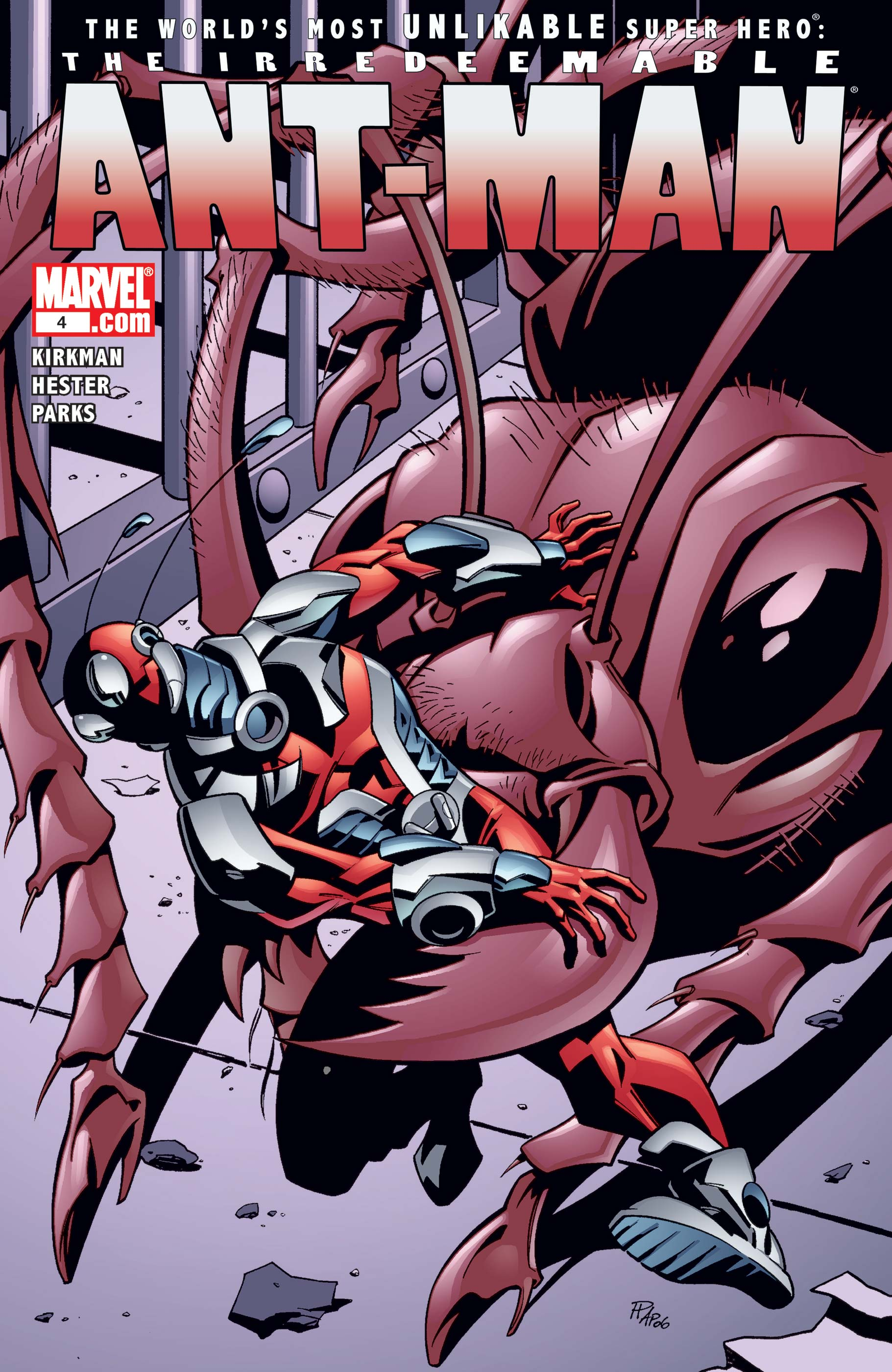 Irredeemable Ant-Man (2006) #4