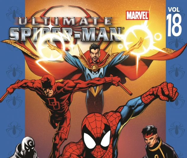 cover to Ultimate Spider-Man Vol. 18: Ultimate Knights (2007)
