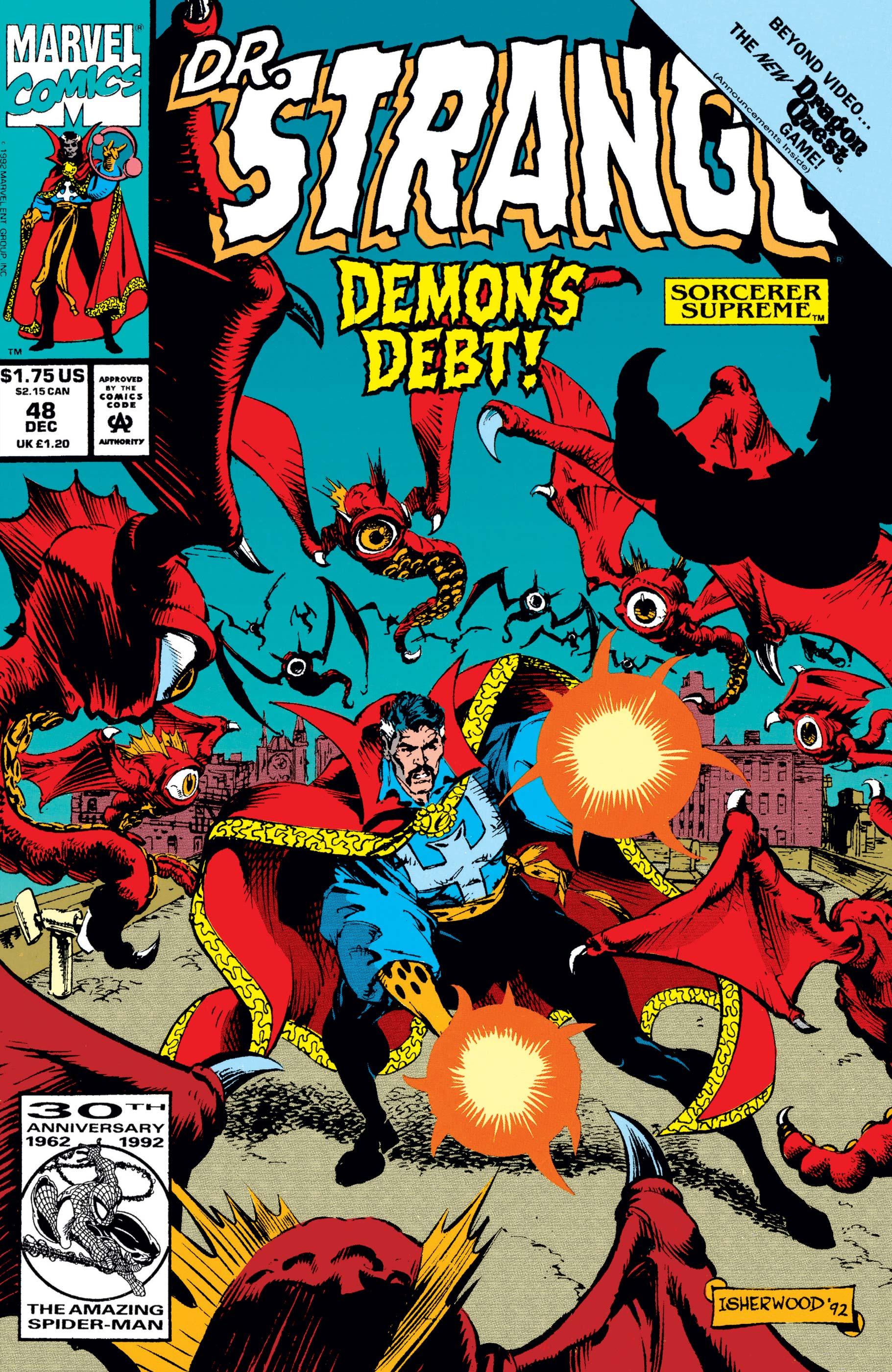 Doctor Strange, Sorcerer Supreme (1988) #48