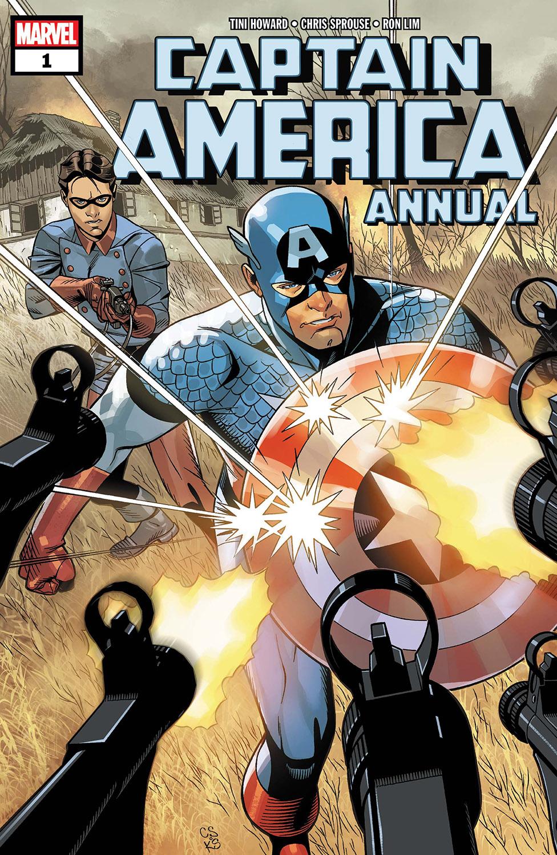 Captain America Annual (2018) #1