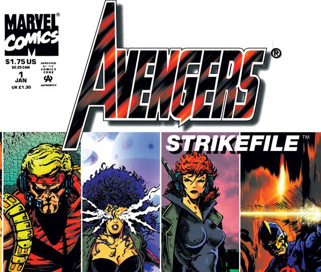 AVENGERS STRIKE FILE 1 #1