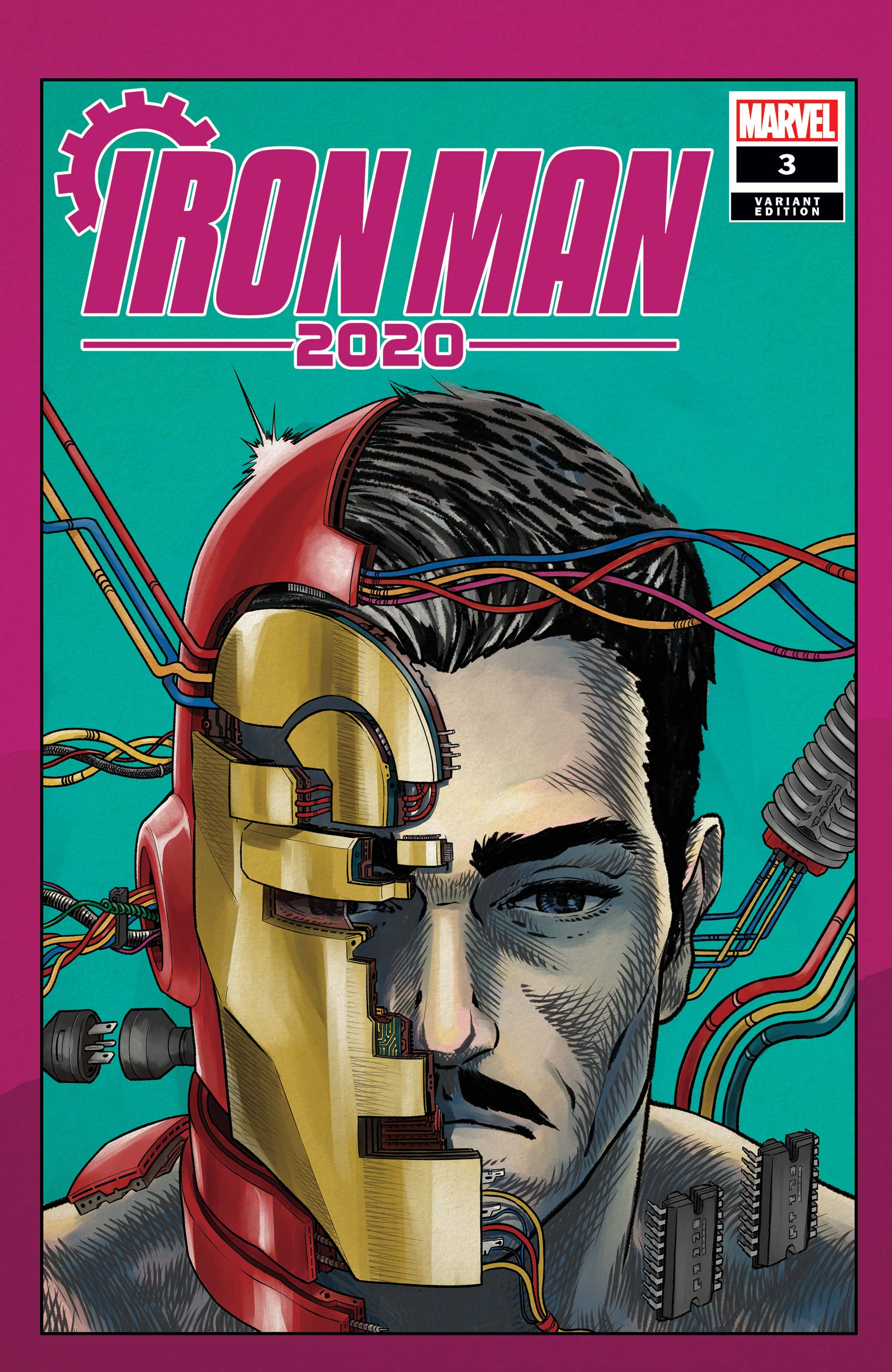 Iron Man 2020 (2020) #3 (Variant)