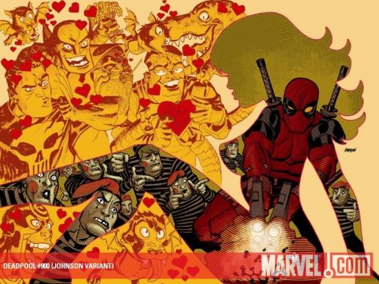 Deadpool Team-Up (2009) #900 (JOHNSON VARIANT)