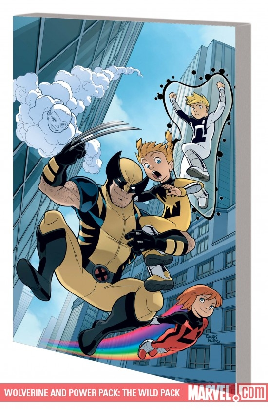 Wolverine and Power Pack: The Wild Pack Digest (Digest)
