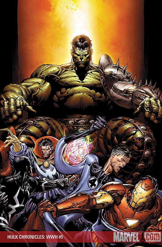 Hulk Chronicles: Wwh (2008) #5