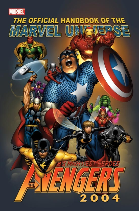 Official Handbook of the Marvel Universe (2004) #3
