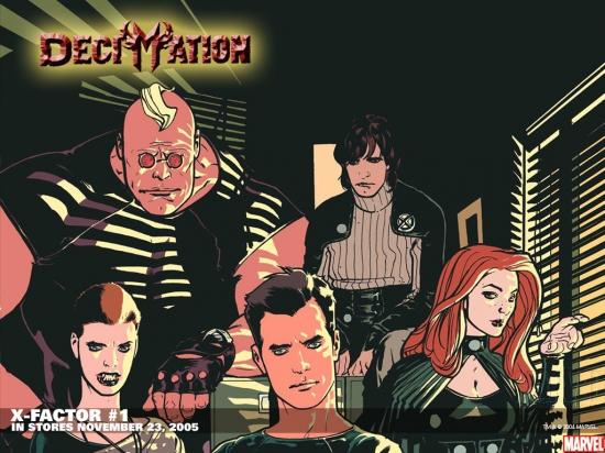 X-Factor (1986) #1 Wallpaper
