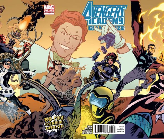 Avengers Academy Giant-Size #1 (Gatefold Variant)