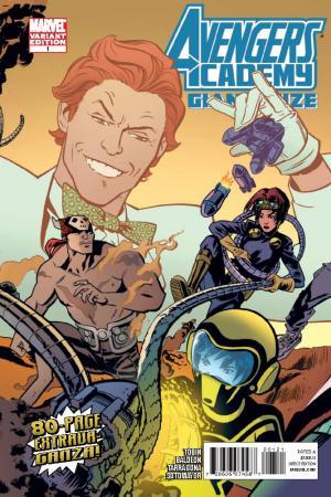 Avengers Academy Giant-Size (2010) #1 (Gatefold Cover)