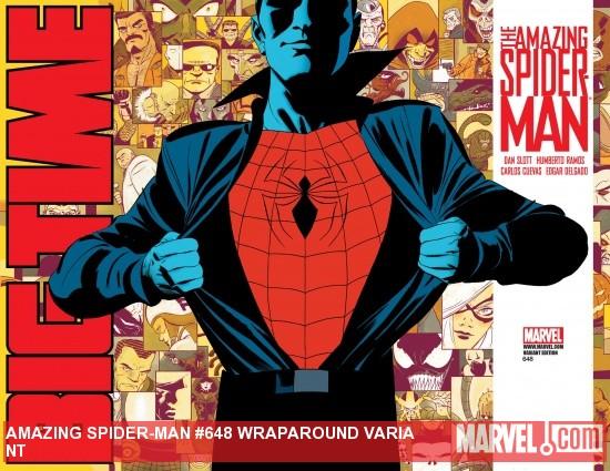 Amazing Spider-Man (1999) #648 (WRAPAROUND VARIANT)