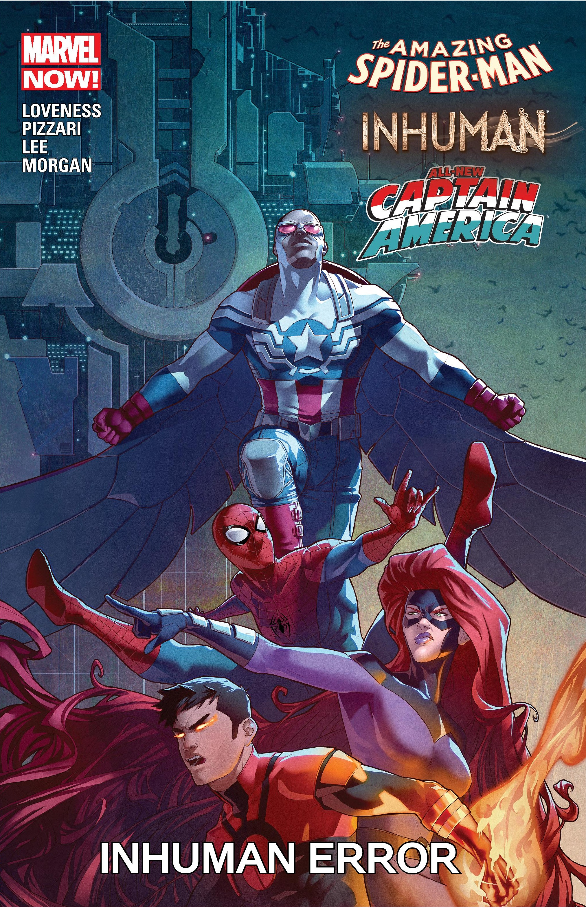 Amazing Spider-Man/Inhuman/All-New Captain America: Inhuman Error (Trade Paperback)