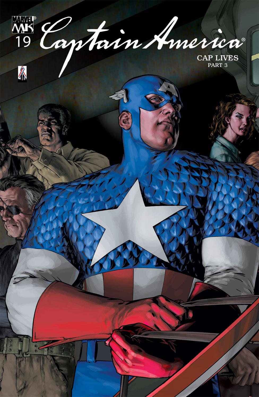 Captain America (2002) #19
