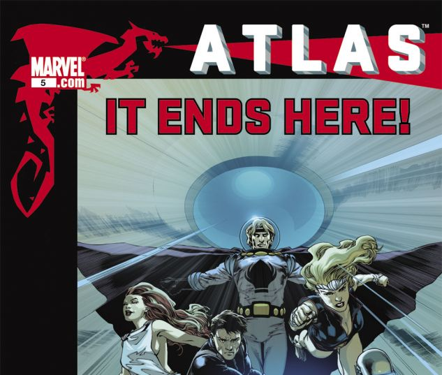 ATLAS (2010) #5 Cover