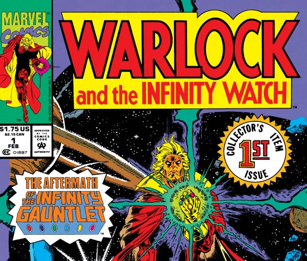WARLOCK AND THE INFINITY WATCH (1992) #1