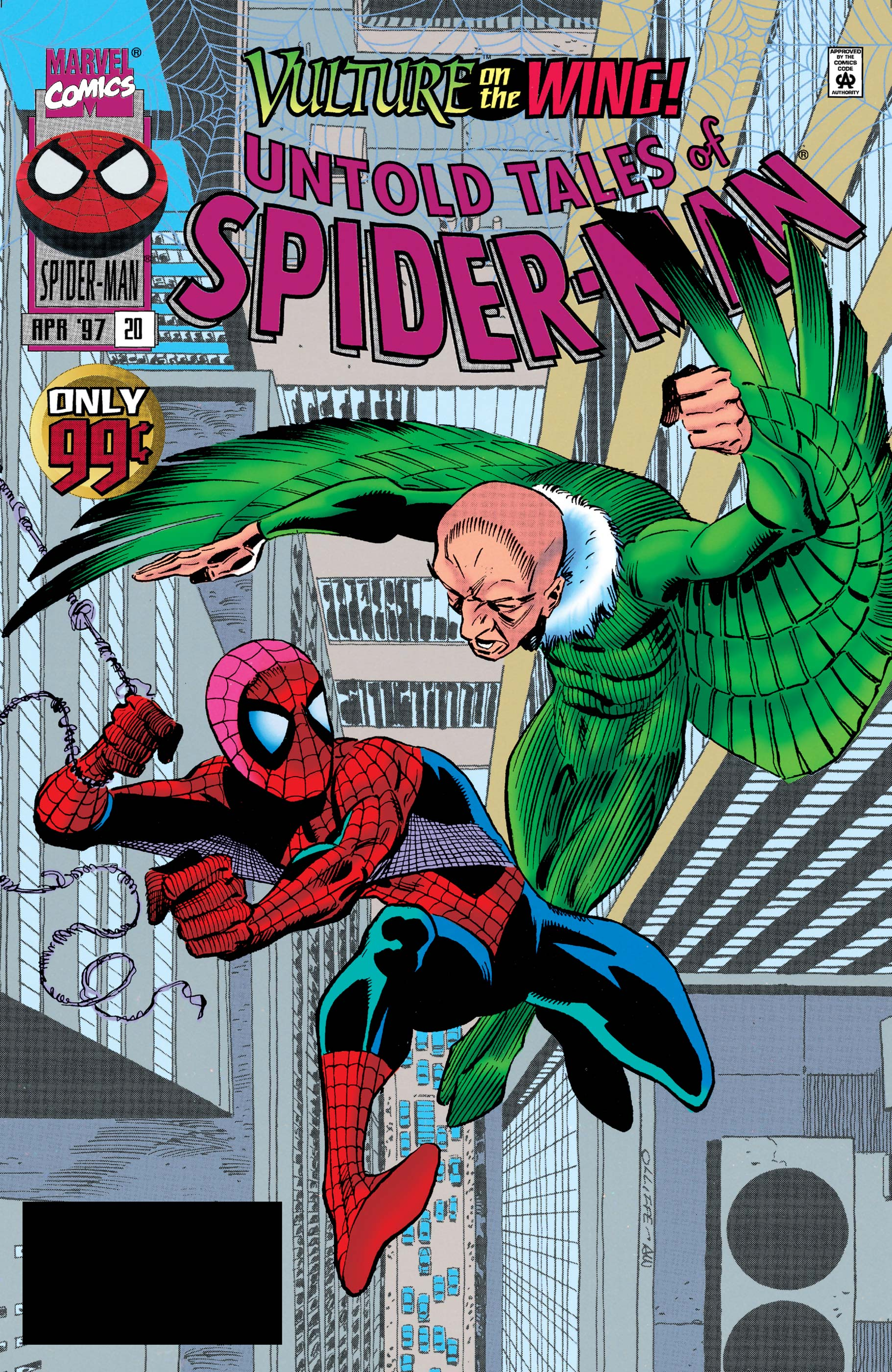 Untold Tales of Spider-Man (1995) #20