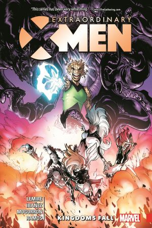 Extraordinary X-Men Vol. 3: Kingdoms Fall (Trade Paperback)