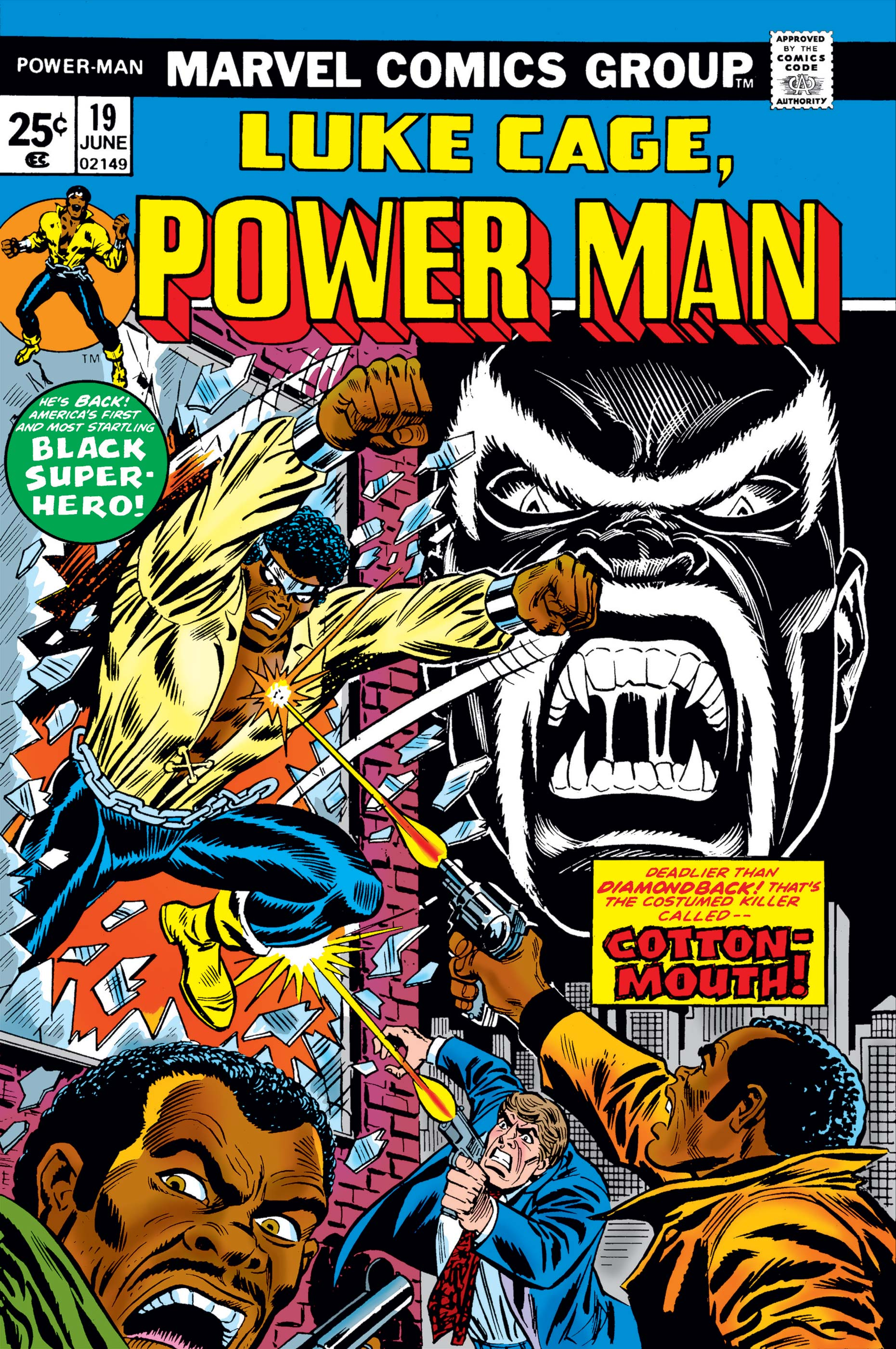 Power Man (1974) #19