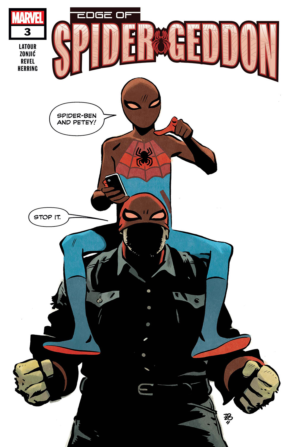 Edge of Spider-Geddon (2018) #3
