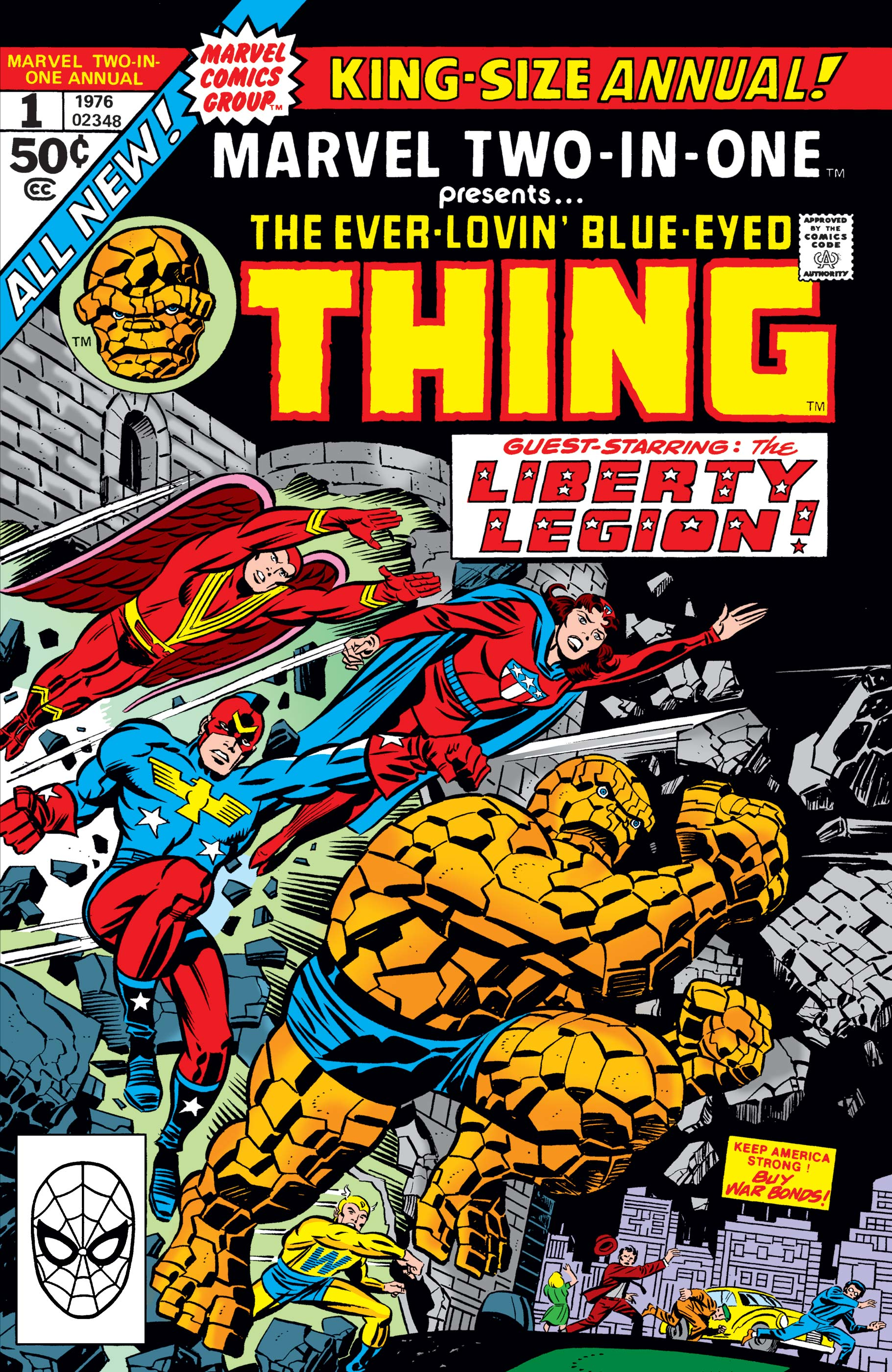 Marvel Two-in-One Annual (1976) #1