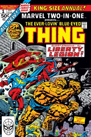 Marvel Two-in-One Annual #1