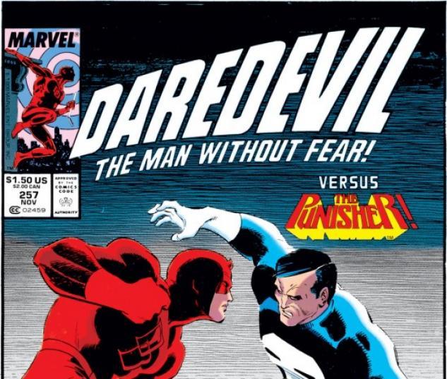 DAREDEVIL #257 COVER