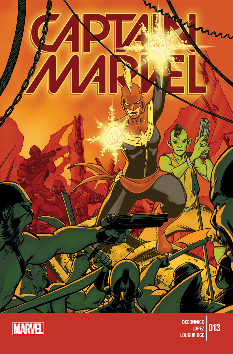 Captain Marvel (2014) #13