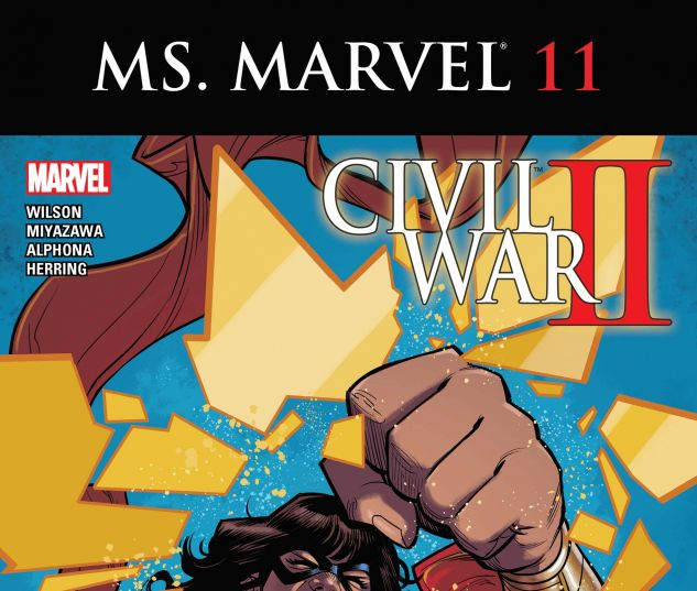 cover from Ms. Marvel (2015) #11