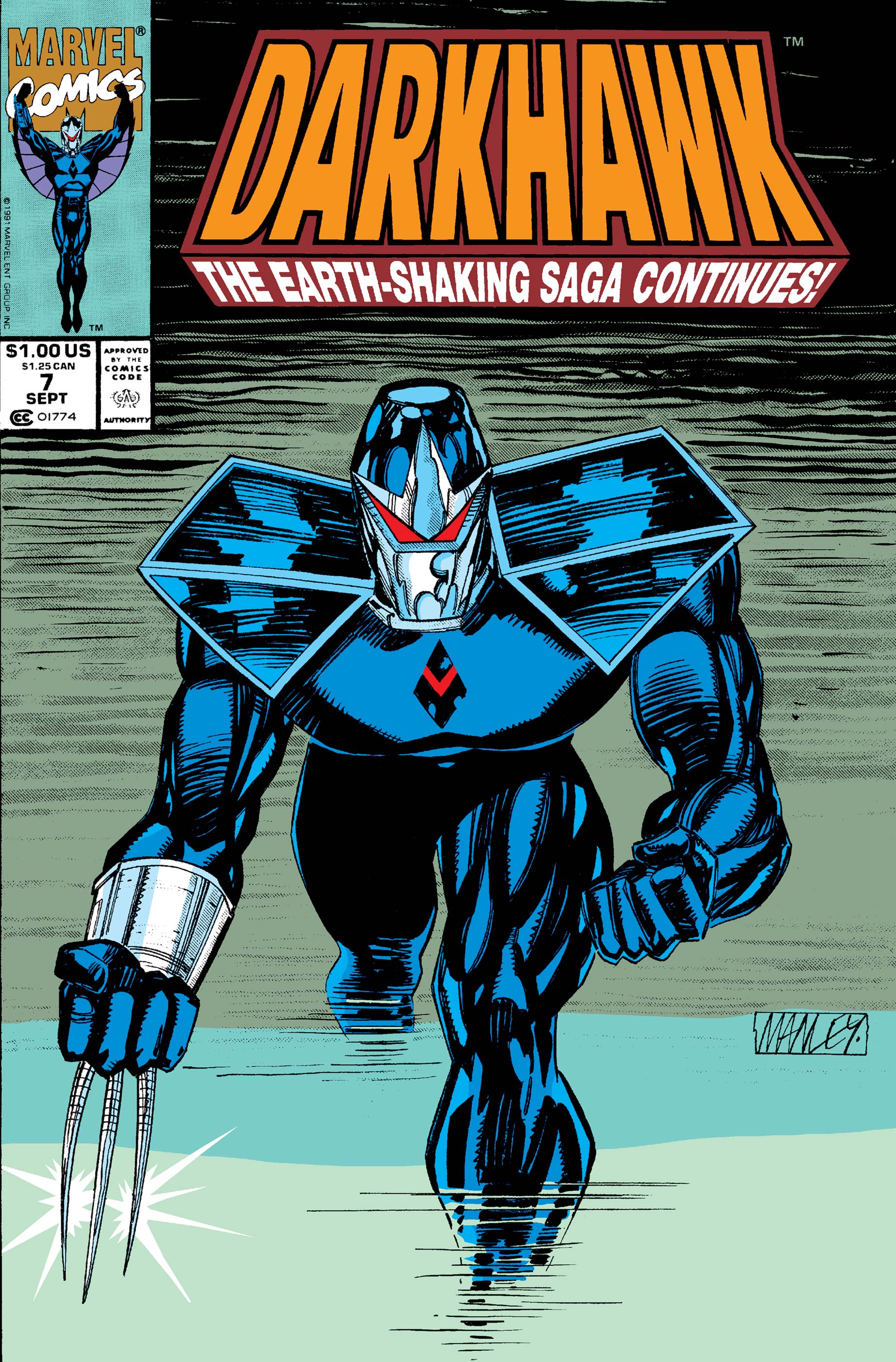 Darkhawk (1991) #7