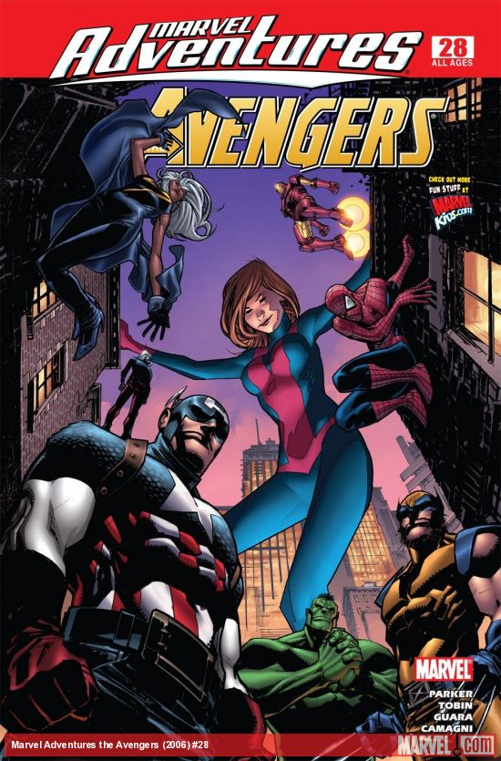 Marvel Adventures the Avengers (2006) #28