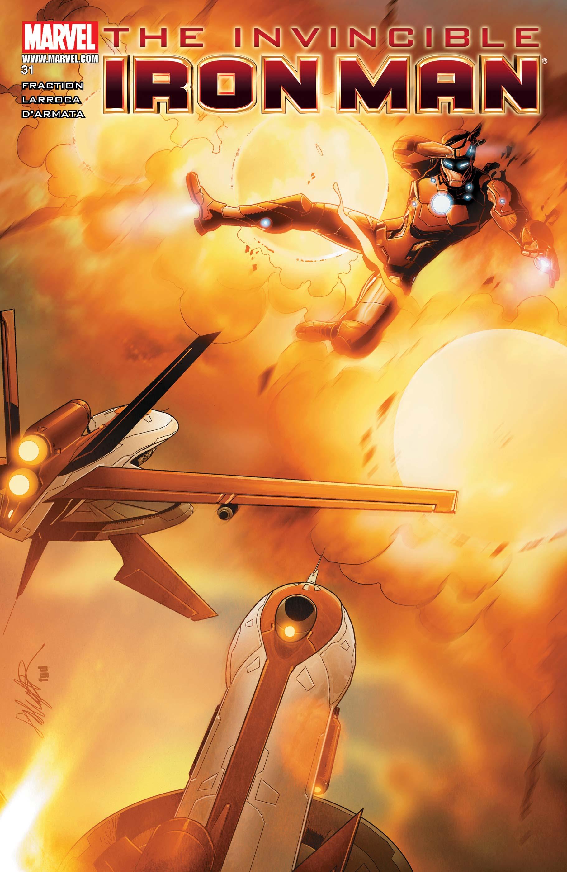 Invincible Iron Man (2008) #31