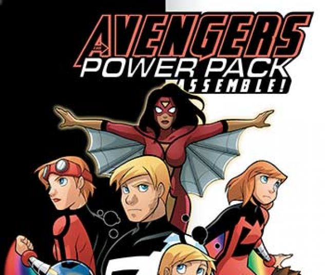 cover from Avengers and Power Pack Infinite Comic (2017) #7