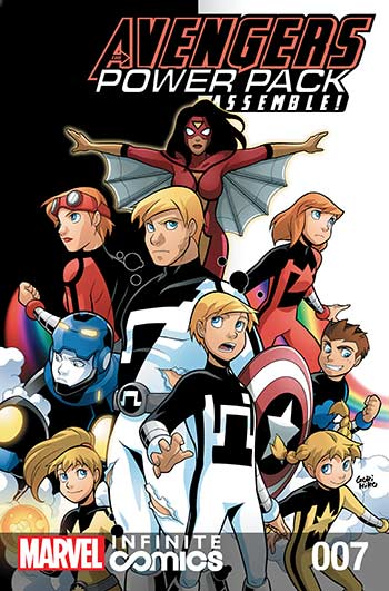 Avengers and Power Pack (2017) #7
