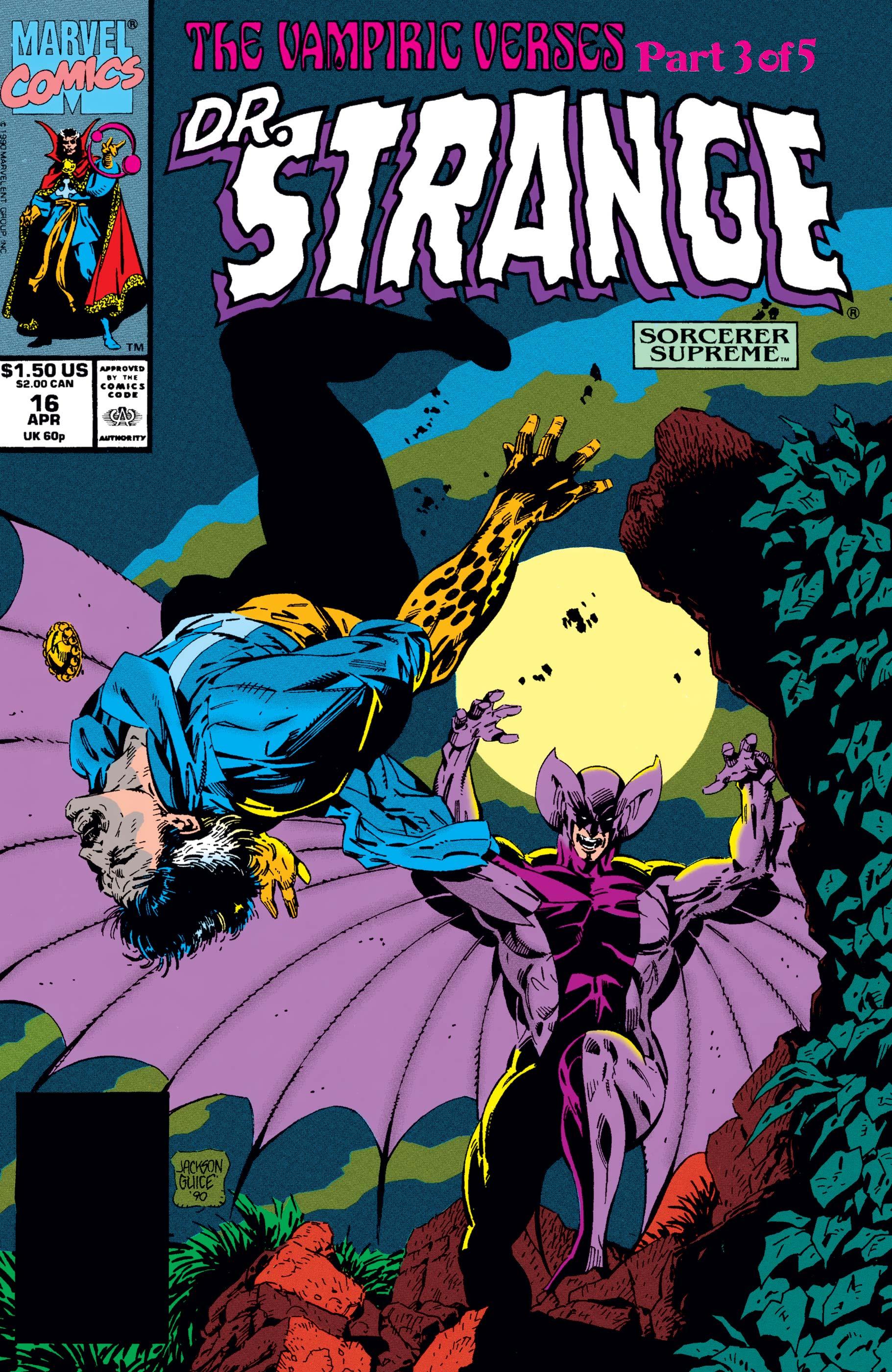 Doctor Strange, Sorcerer Supreme (1988) #16