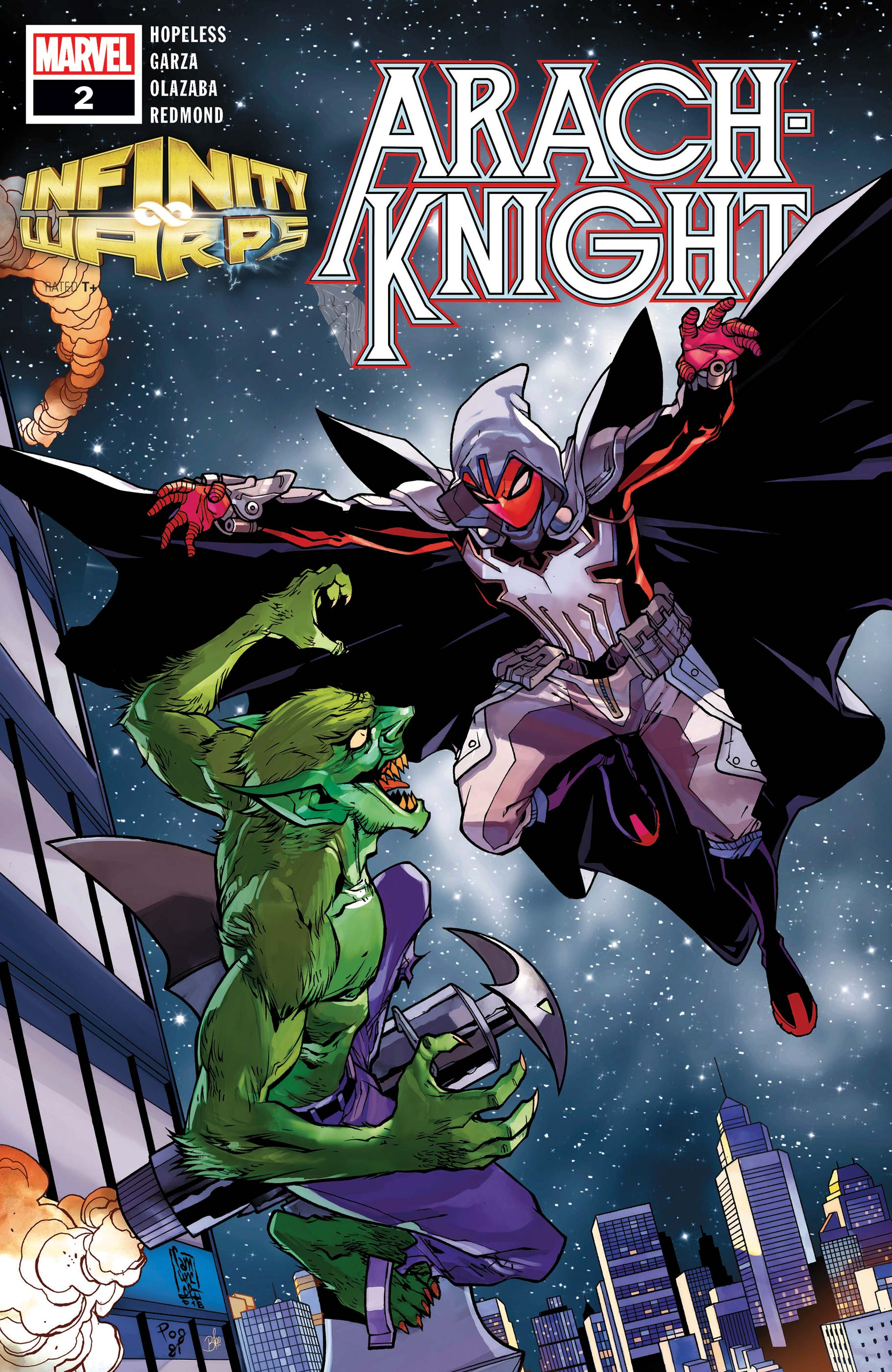 Infinity Wars: Arachknight (2018) #2
