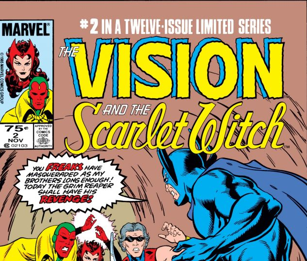 VISION AND THE SCARLET WITCH (1985) #2