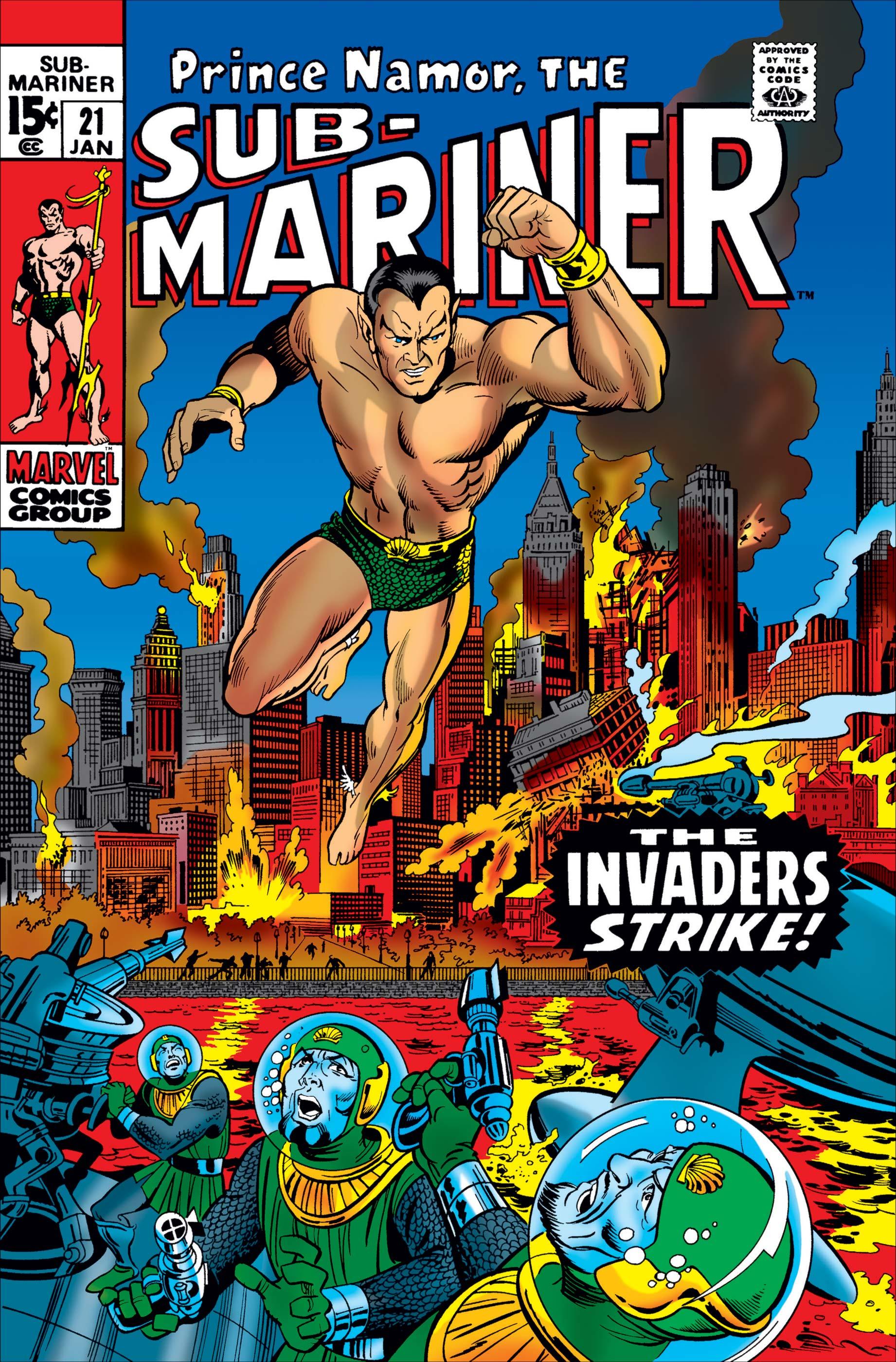 Sub-Mariner (1968) #21