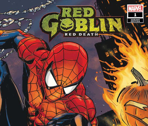 RED GOBLIN: RED DEATH 1 DAUGHTRY/GARNEY WRAPAROUND VARIANT #1