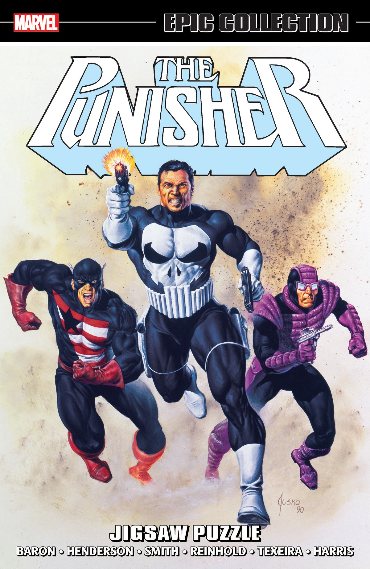 Punisher Epic Collection: Jigsaw Puzzle  (Trade Paperback)