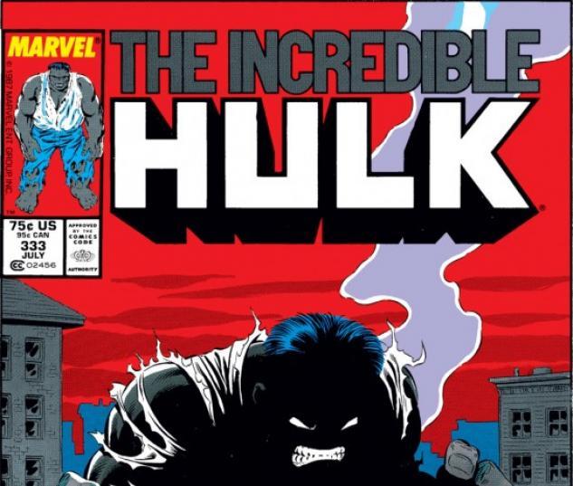 INCREDIBLE HULK (2009) #333 COVER