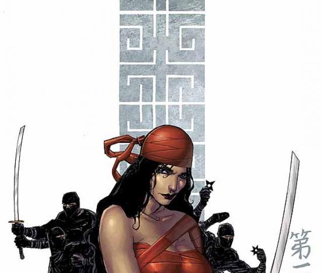 ELEKTRA: THE HAND (2004) #1 COVER