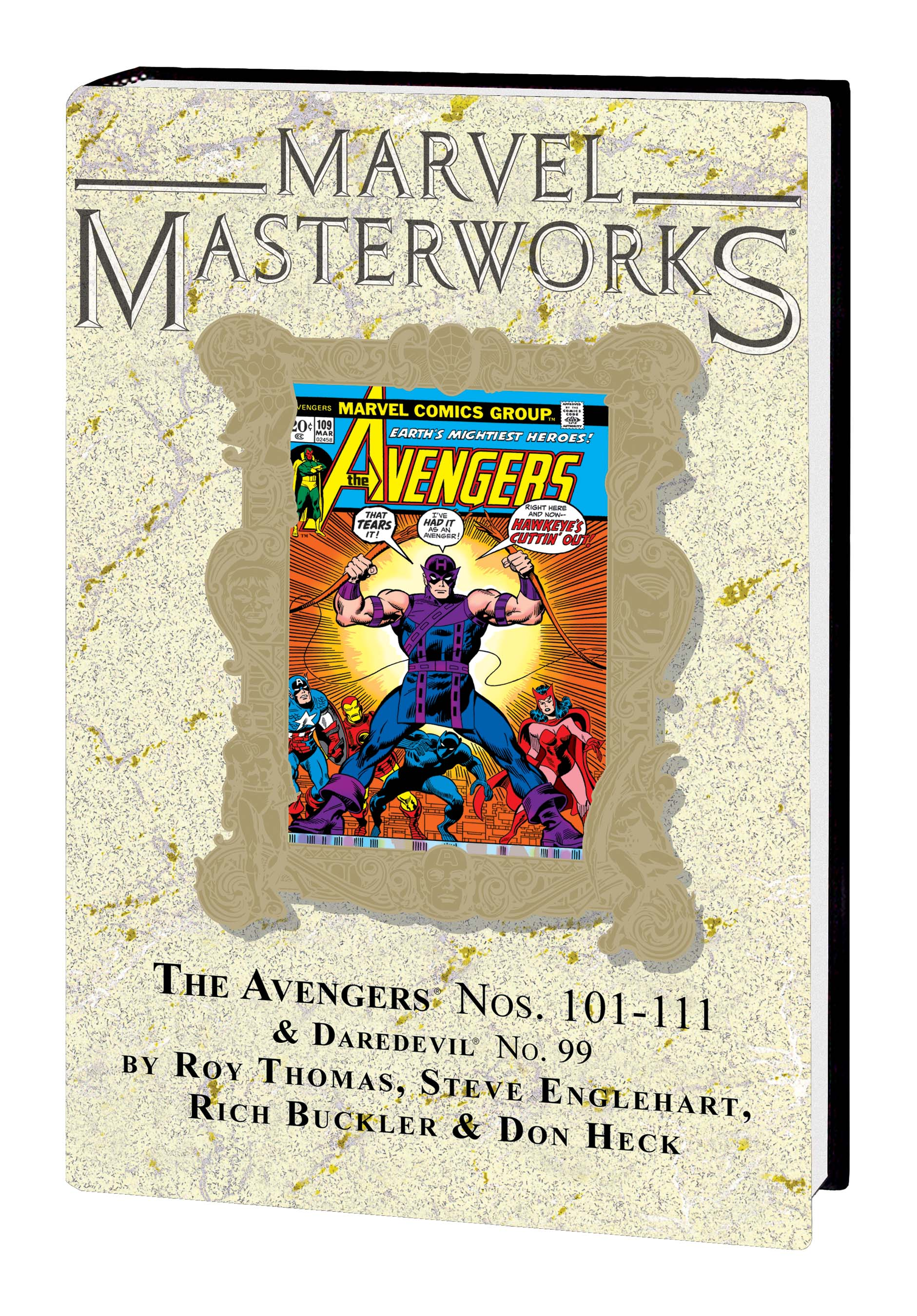 Marvel Masterworks: The Avengers Vol. 11 HC (DM Variant) (Hardcover)