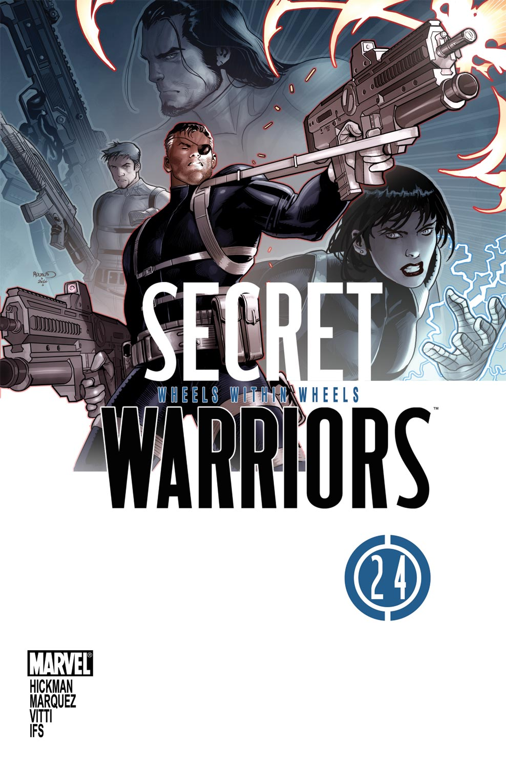 Secret Warriors (2009) #24