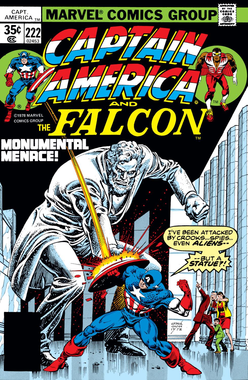 Captain America (1968) #222