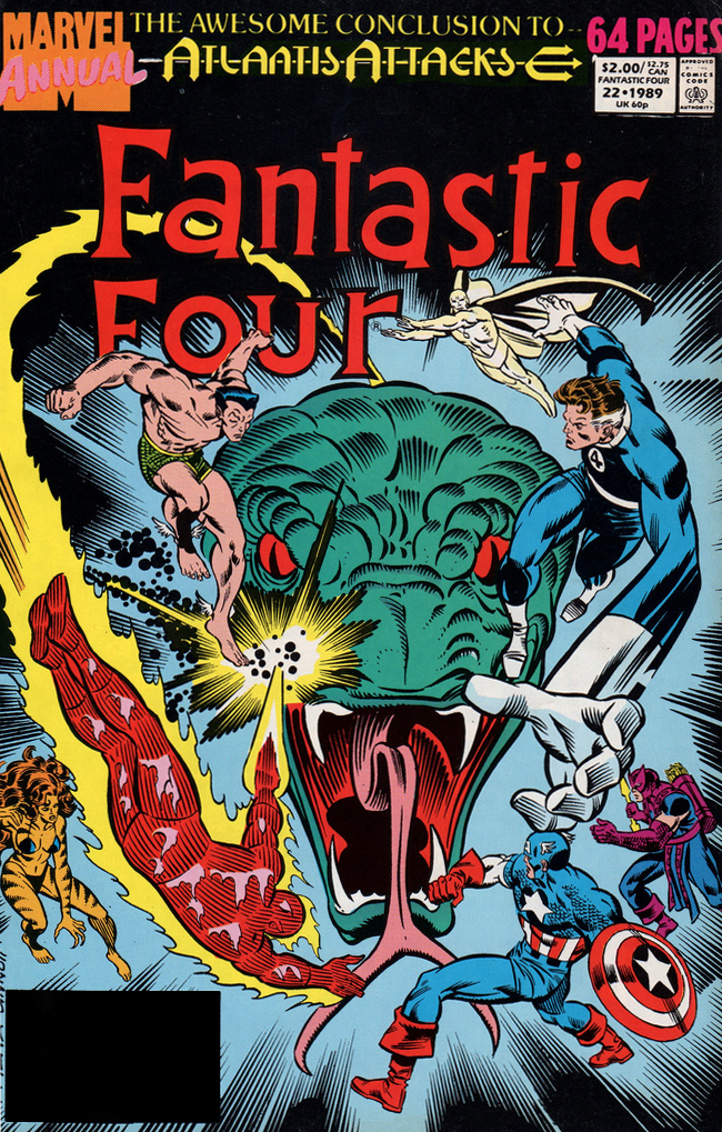Fantastic Four Annual (1963) #22