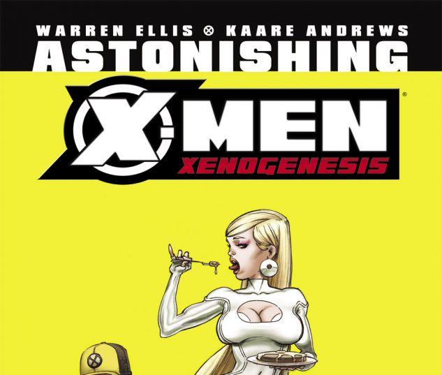 ASTONISHING X-MEN: XENOGENESIS (2010) #3 Cover