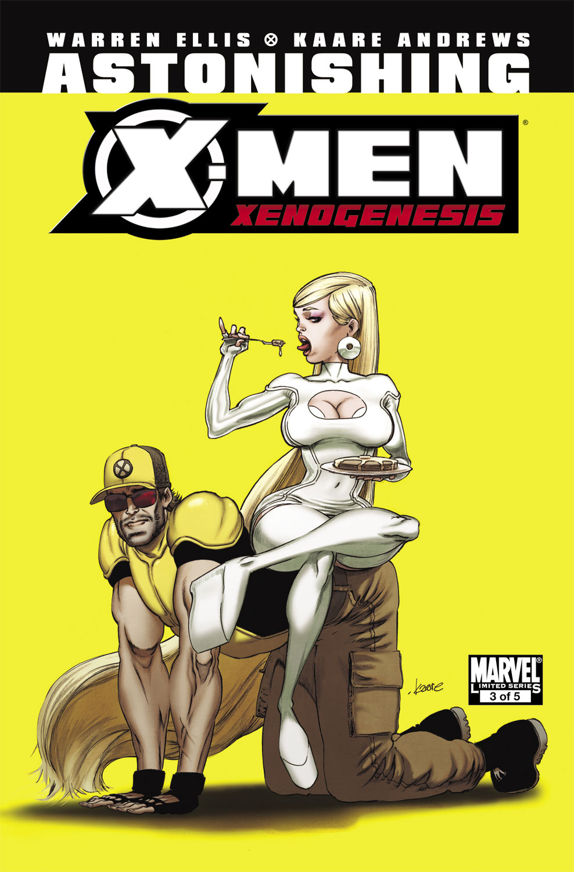 Astonishing X-Men: Xenogenesis (2010) #3