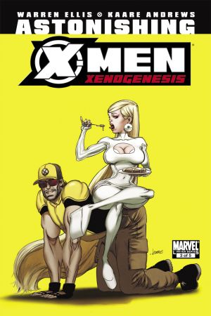 Astonishing X-Men: Xenogenesis #3