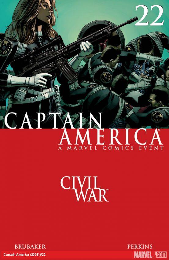 Captain America (2004) #22